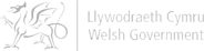 Welsh Government greyscale logo